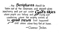 clarence jordan quote