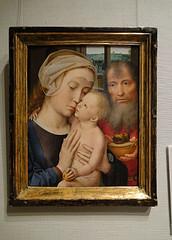 Gerard David.The Holy Family