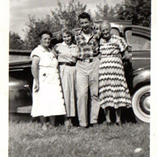 Grandma Stevens and Family